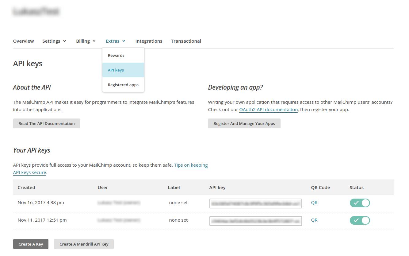 POC: Calling MailChimp API from Java   Average Dev